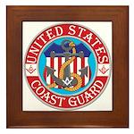 Coast Guard Masons Framed Tile
