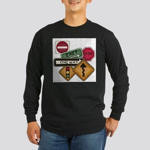 Road Signs Long Sleeve T-Shirt