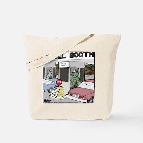 Troll Booth Tote Bag