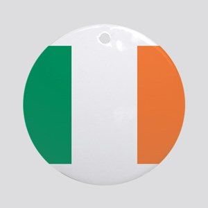 Irish Flag Ornament (Round)