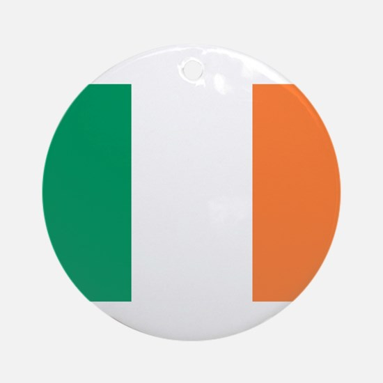 Irish Flag Ornament (Round)