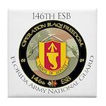 Florida Army Natl Guard Tile Coaster