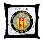 Florida Army Natl Guard Throw Pillow