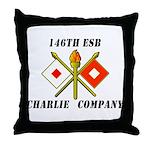 146th ESB Throw Pillow