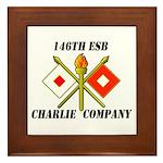 146th ESB Framed Tile