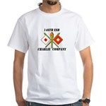146th ESB-Charlie Rock White T-Shirt