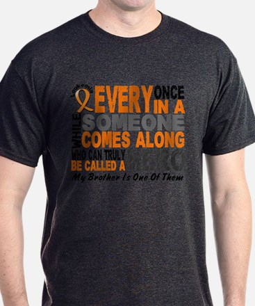 HERO Comes Along 1 Brother LEUKEMIA T-Shirt