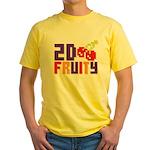 2D Fruity Yellow T-Shirt