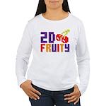 2D Fruity Women's Long Sleeve T-Shirt