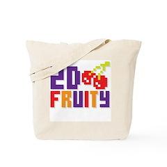 2D Fruity Tote Bag
