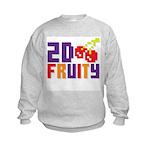 2D Fruity Kids Sweatshirt