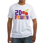 2D Fruity Fitted T-Shirt