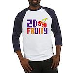 2D Fruity Baseball Jersey