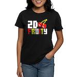 2D Fruity Women's Dark T-Shirt