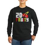 2D Fruity Long Sleeve Dark T-Shirt