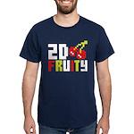 2D Fruity Dark T-Shirt