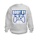 Body By Video Games Kids Sweatshirt