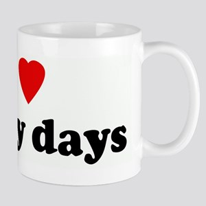 I Love sunny days Mug