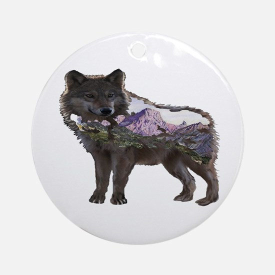 WATCHFUL Round Ornament