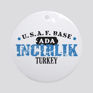 Incirlik Air Force Base Ornament (Round)
