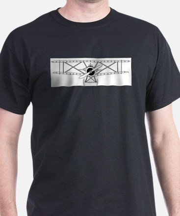 Biplane Isolated Outline T-Shirt