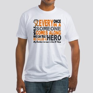 HERO Comes Along 1 Brother-In-Law LEUK Fitted T-Sh