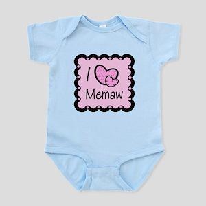 I Love Memaw Infant Bodysuit