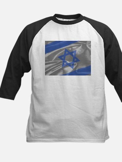 Israel Silk Flag Closeup Baseball Jersey