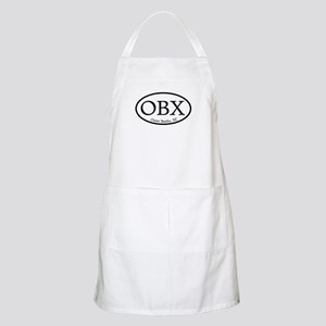 OBX Outer Banks, NC Oval BBQ Apron