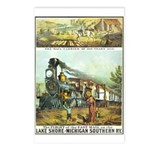 Flight of the Fast Mail Postcards (Package of 8)
