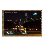 Night view of Philly. Postcards (Package of 8)