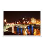 Nighttime on Bridge. Postcards (Package of 8)