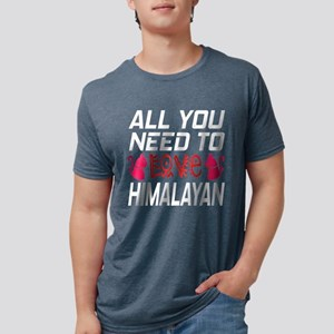 All You Need To Love Himala Mens Tri-blend T-Shirt