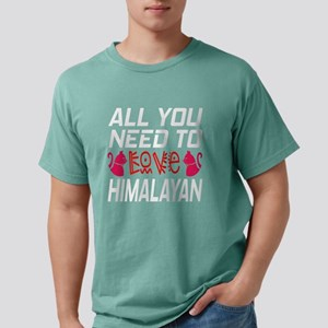 All You Need To Love Hi Mens Comfort Colors® Shirt