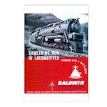 Baldwin S-2 Steam Locomotive Postcards (Package of