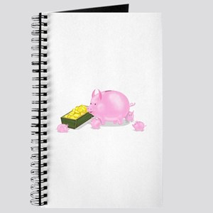 Piggy Bank Family Dinner Journal
