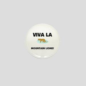 Viva La Mountain Lions Mini Button
