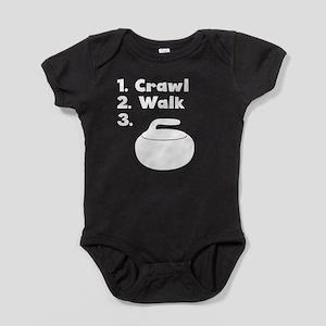 Crawl Walk Curling Body Suit