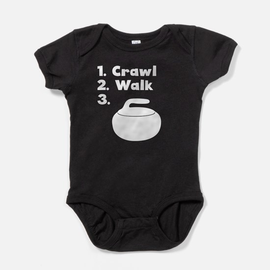 Crawl Walk Curling Body Suit