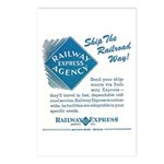 Railway Express Postcards (Package of 8)