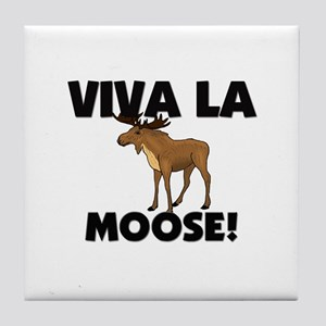 Viva La Moose Tile Coaster
