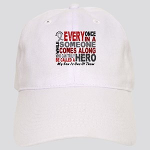 HERO Comes Along 1 Son BRAIN CANCER Cap