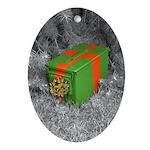 Ammo Box Oval Ornament