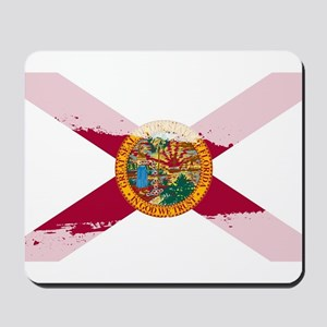 Florida Flag Splash Mousepad