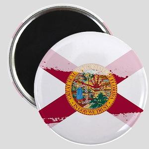 Florida Flag Splash Magnets