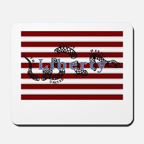 Liberty (blue) Mousepad