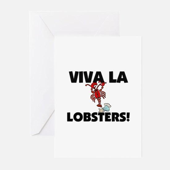 Viva La Lobsters Greeting Cards (Pk of 10)