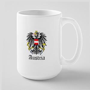 Austrian Coat of Arms Seal Large Mug