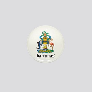 Bahamian Coat of Arms Seal Mini Button