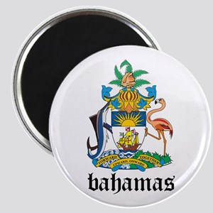 Bahamian Coat of Arms Seal Magnet